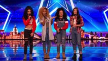 The Miss Treats deliver a mighty good audition | Auditions Week 3 | Britains Got Talent 2017