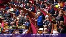 Intervention de Jacqueline Maquet suite aux annonces du Président de la République - Croisilles - Calais