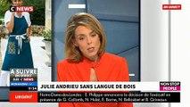 """Morandini Live - Julie Andrieu donne son avis sur """"Une ambition intime"""" sur M6"""