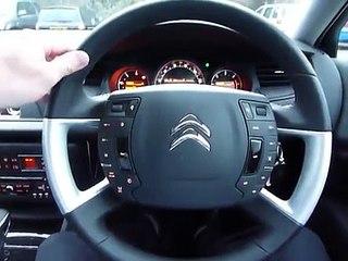 Citroen C5 steering wheel