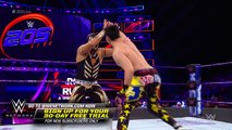 Gran Metalik vs. TJP- WWE 205 Live, Jan. 16, 2018
