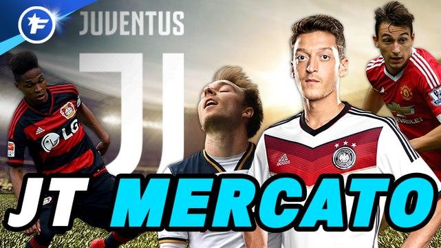 Journal du Mercato : la Juventus multiplie les pistes, l'ASSE en pleine effervescence