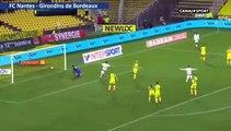 Resumé FC Nantes 0-1  Girondins de Bordeaux but  Nicolas de Préville