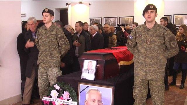Ceremonia Mortore e kryetarit të KK Bujanoc, kryetarit të KKSH-së, Jonuz Musliut
