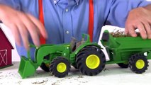 Tractor Toys with Blippi _ Educational Videos for Preschoolers