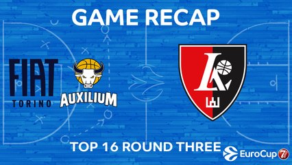7DAYS EuroCup Highlights Top 16, Round 3: Fiat Turin 83-77 Rytas