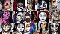 Half POP ART Zombie Half POP ART Charer Halloween Tutorial