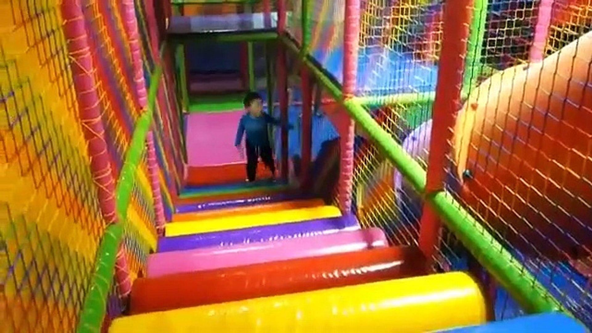 Playing Indoor Playground Kids Fun