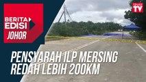 Pensyarah ILP Mersing redah lebih 200km
