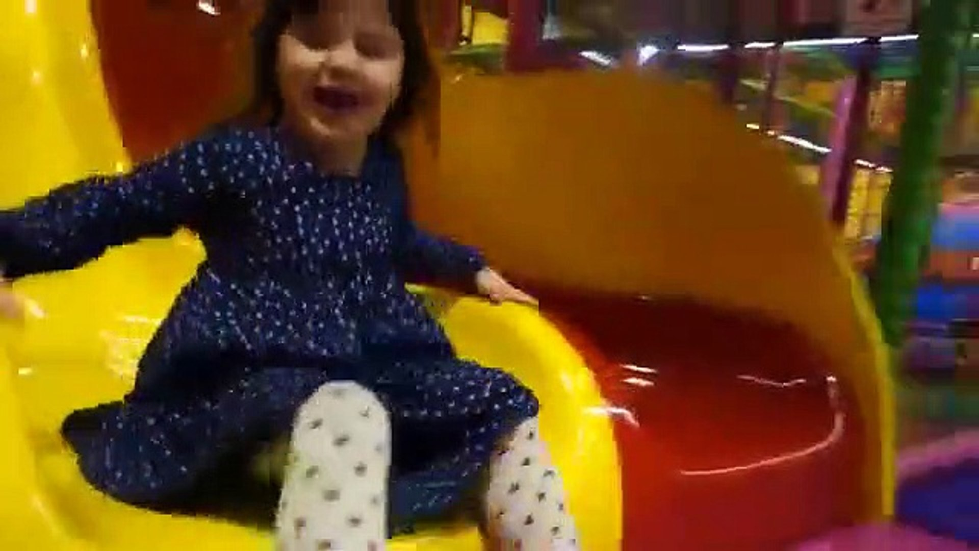 Playing Indoor Playground Kids Fun with Balls Toys Play cente for Kids Playroom