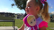 Outdoor playground family fun for kids video & nursery rhymes songs for childre