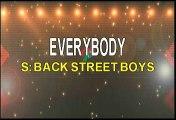 Backstreet Boys Everybody Karaoke Version
