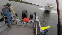 Un hors-bord percute un petit bateau de pêche