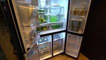CES 2018 : Présentation du nouveau réfrigérateur intelligent Samsung
