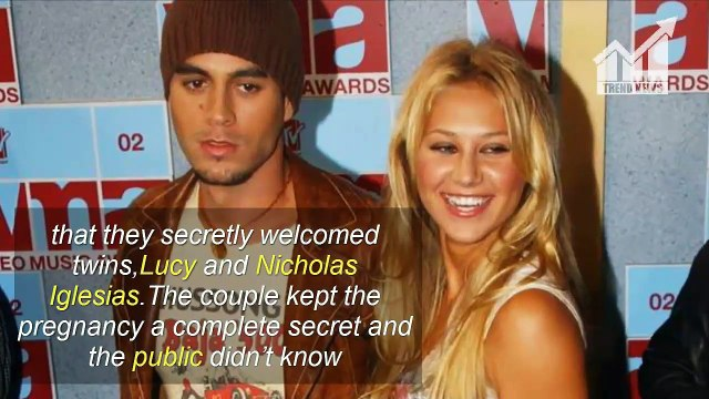 Enrique Iglesias Shares First Picture of One of His Newborn Twins with Anna Kournikova!
