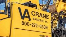 Crane Rental Agency,  Crane Repair Services - VA Crane Rental