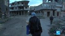 Syria: Homs residents start rebuilding war-torn city