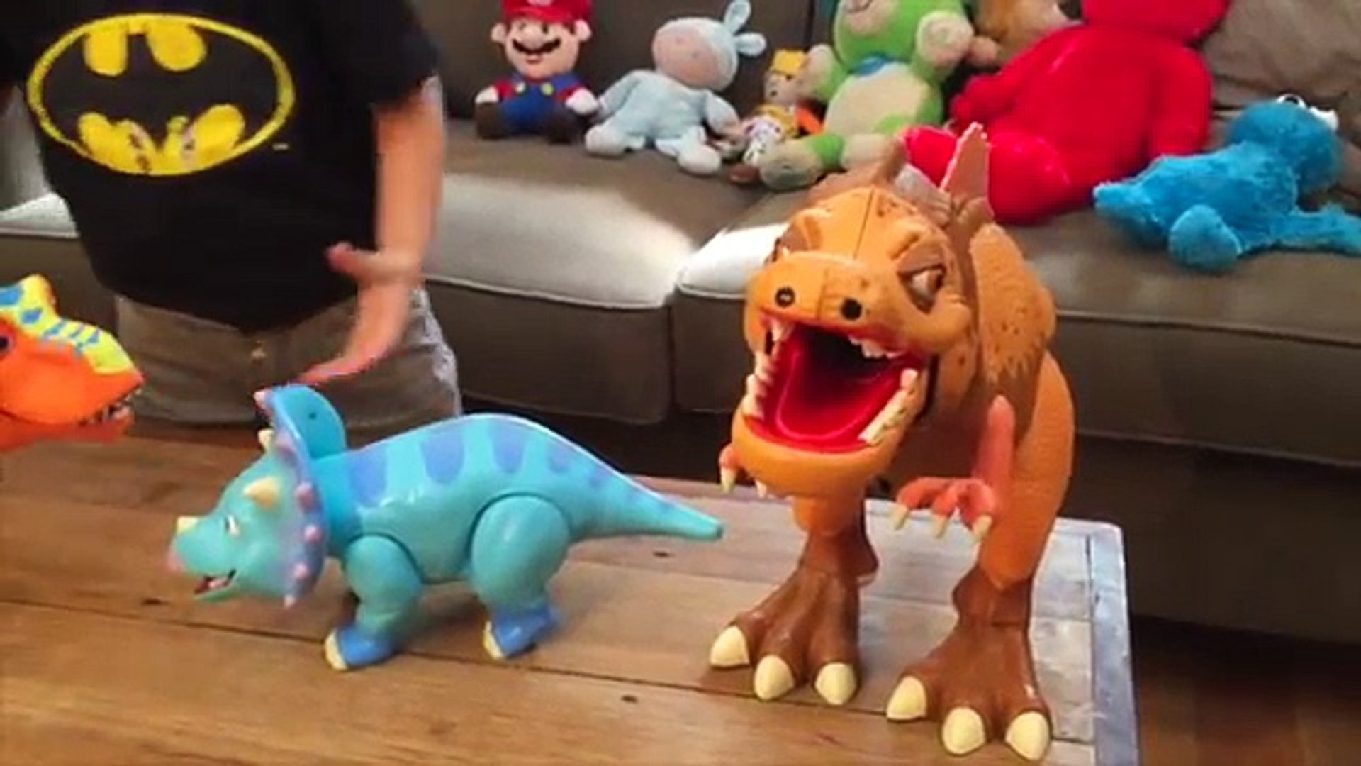 Dinosaur train vs New Youtube Star Batman Zac