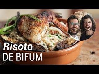 Risoto de Bifum com Frango ft. Mohamad Hindi - Web à Milanesa