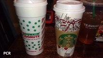 Coffee - Starbucks VS Dunkin Donuts
