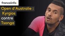 Open d'Australie : Kyrgios contre Tsonga