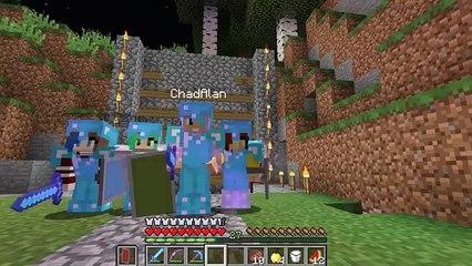 Minecraft Survival Adventure EP18   Wither Hunt!   Gamer Chad, RadioJH Audrey, SallyGreenG