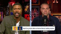 Jalen And Jacoby React To Video Of Steph Curry Mocking LeBron James | Jalen & Jacoby | ESPN