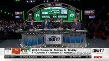 Lonzo Ball, LaMelo & Lavar At The 2017 NBA Draft FUNNY MOMENTS! LA Lakers Choose Lonzo 2nd Pick