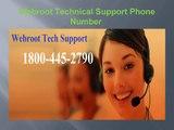 1-800-445-2790 Webroot tech support phone number , webroot antivirus support