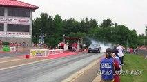 2016 Gasser Drag Racing Crashes Willys Car Nostalgia Classic Quaker City Motorsports Park Video