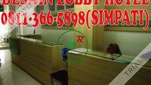 0811-366-5898(SIMPATI), Lobby Hotel Modern Minimalis Harga MurahSurabaya, Lobby Hotel Design Surabaya