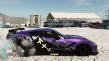 THE CREW WILD RUN GAMEPLAY : Salt Flat Drag Racing Gameplay, Drag Spec C7 Corvette!!!