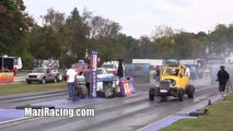 2013 Hot Rod Gassers Cars Drag Racing Jalopy Showdown Drags Beaver Springs Dragway USA Video