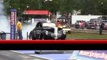 2013 Wheelstand Contest Nostalgia Drag Racing Gasser Nationals Beaver Springs Dragway USA Video