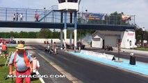 2013 Hemi Front Engine Dragster Drag Racing Gasser Reunion Thompson Raceway Park Video