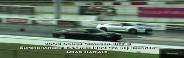 Tuned Nissan GT-R vs Supercharged Charger SRT 8 w/ 6.4 Liter Hemi - Drag Race Video - Road Test TV ®