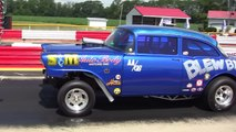 RccVideo's Outlaw AA/GS Gassers Nostalgia Drag Racing Thompson