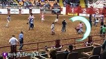 Cowboy RODEO! Riding Bulls n' Horses   Sheep at Fort Worth S