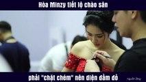 """Hòa Minzy tiết lộ chào sân phải """"chặt chém"""" nên diện đầm đỏ"""
