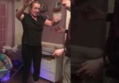 Irish Woman Attempts a Hoverboard for First Time