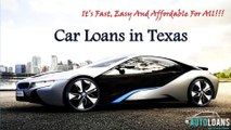 Car Loan In Texas - Get Best Auto Loans In Texas Online For Bad Credit With Affordable Interest Rate