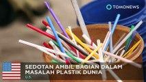 Polusi sedotan plastik: kampanye untuk mengurangi penggunaan sedotan plastik - TomoNews