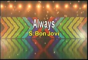 Bon Jovi Always Karaoke Version