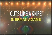 Bryan Adams Cuts Like A Knife Karaoke Version