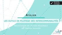 Rencontres territoriales de Bretagne - Les outils de pilotage des intercommunalités (introduction)