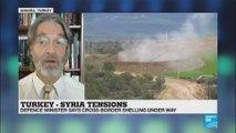 Turkey-Syria Tensions as Turkey begins artillery fire on Syria''s Kurdish-controlled Afrin region on Friday