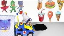 PJ Masks Cooking McDonalds Hamburger, Paw Patrol McDonalds Happy Meal toys Part 4