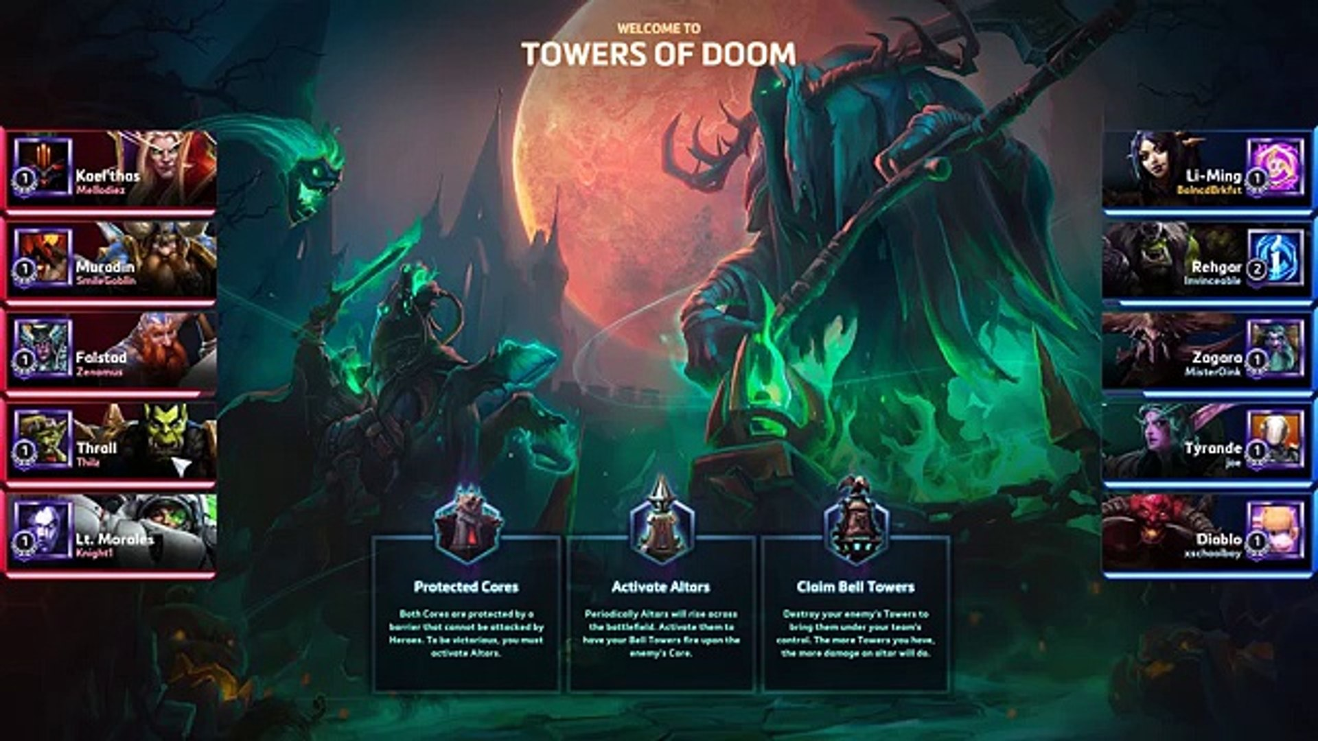 Heroes Of The Storm Ranked Gameplay Li Ming Wizard Endless Heavy Damage Build