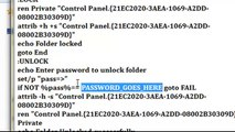 How to password protect folders on windows 7 - YouTube