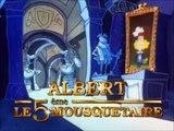 Albert le cinquième mousquetaire - Generique